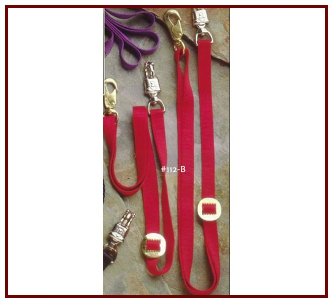 Flat Nylon Cross Ties (Pair)