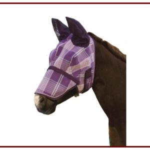 Kensington Fly Mask w/ Removable Nose and Soft Ears