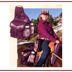 Kensington Insulated Saddle Bag w/ 2 Water Bottles