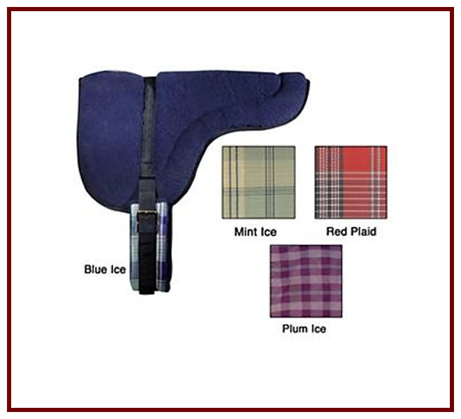 Kensington Fleece Back Pad w/ Extra Heavy Fleece