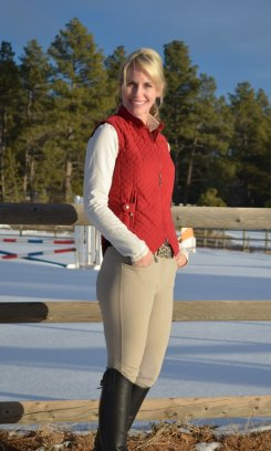 EOUS Ladies Windsor Riding Vest