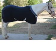 EOUS Solid Fleece Horse Cooler
