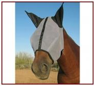 Horse Sense Fly Mask w/ Ears (no extended nose)