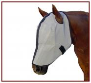 Horse Sense Fly Mask w/ Extended Nose (no ears)