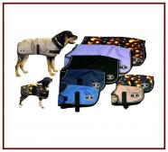 Smooth Lined Dog Coats (Solids & Prints)