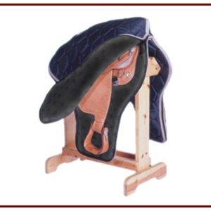 Long Western Saddle Case