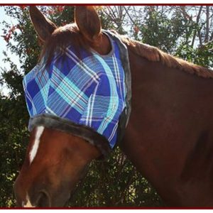 Kensington Fly Mask w/ Fleece Trim